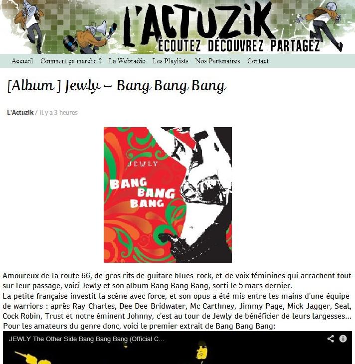 L'Actuzik – 01/04/2014