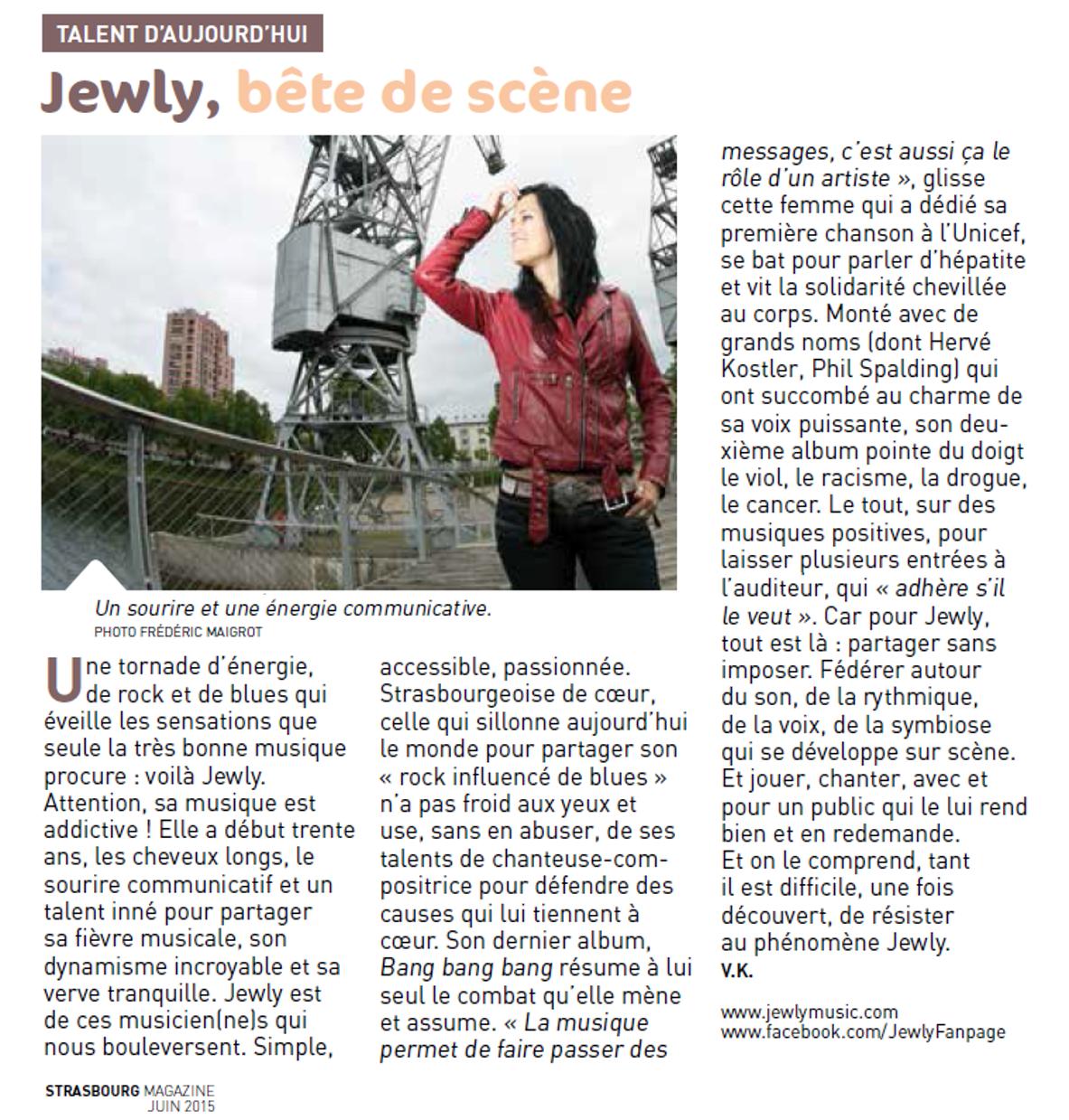 Strasbourg Magazine – 06/2015