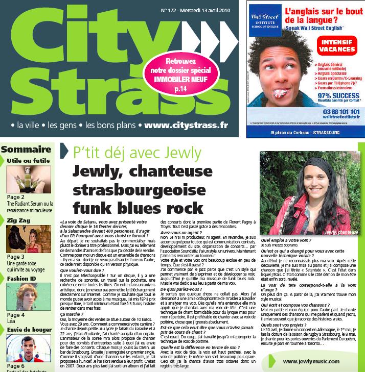 City Strass – 04/2011