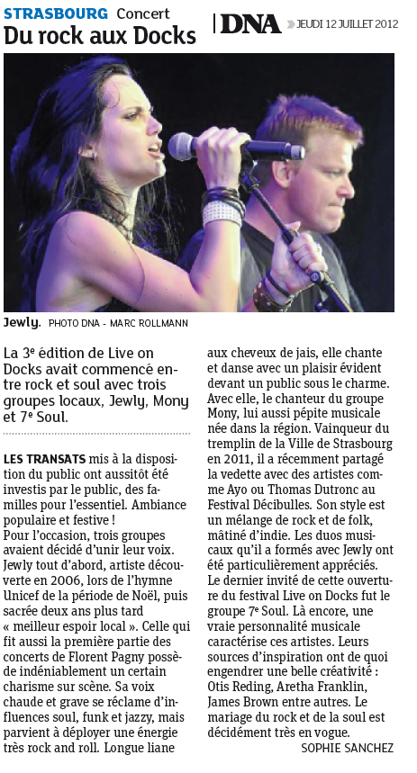 DNA – 12/07/2012