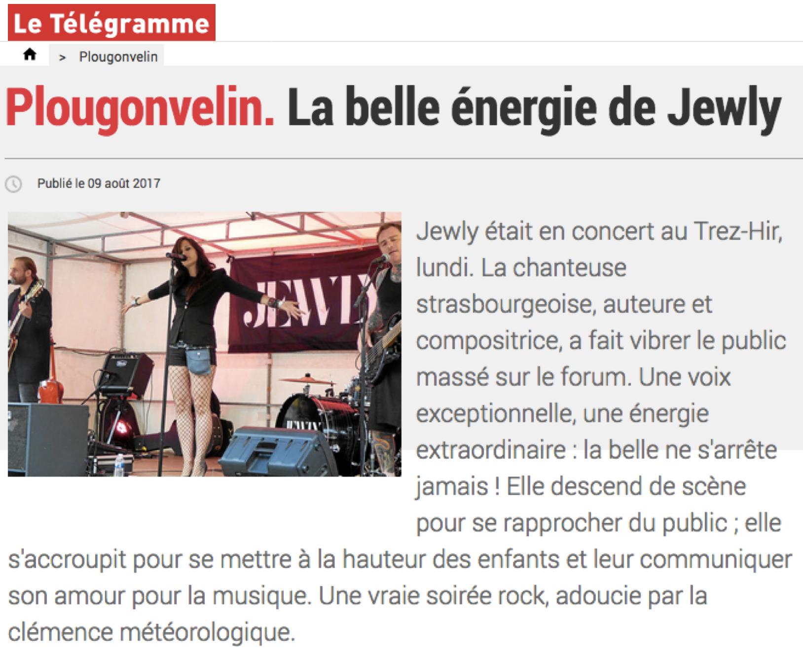 Le Télégramme - 09/08/17
