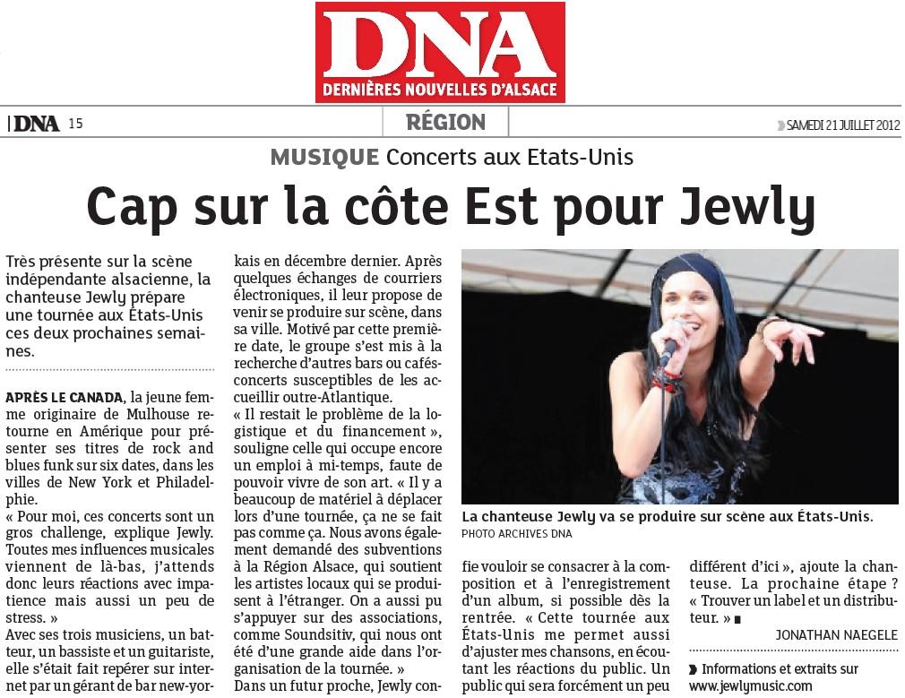 DNA – 21/07/2012