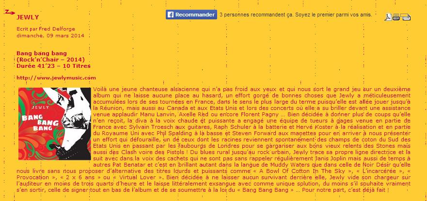 ZICAZIC – 09/03/2014