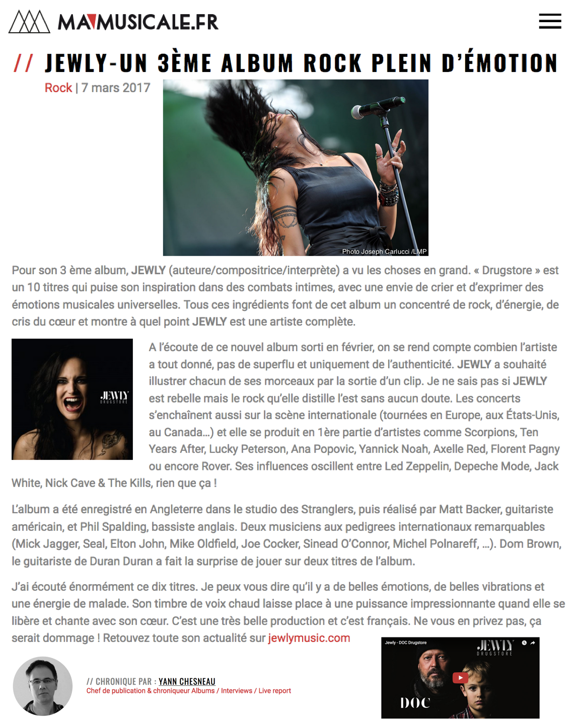 Ma Musicale - 07/03/2017