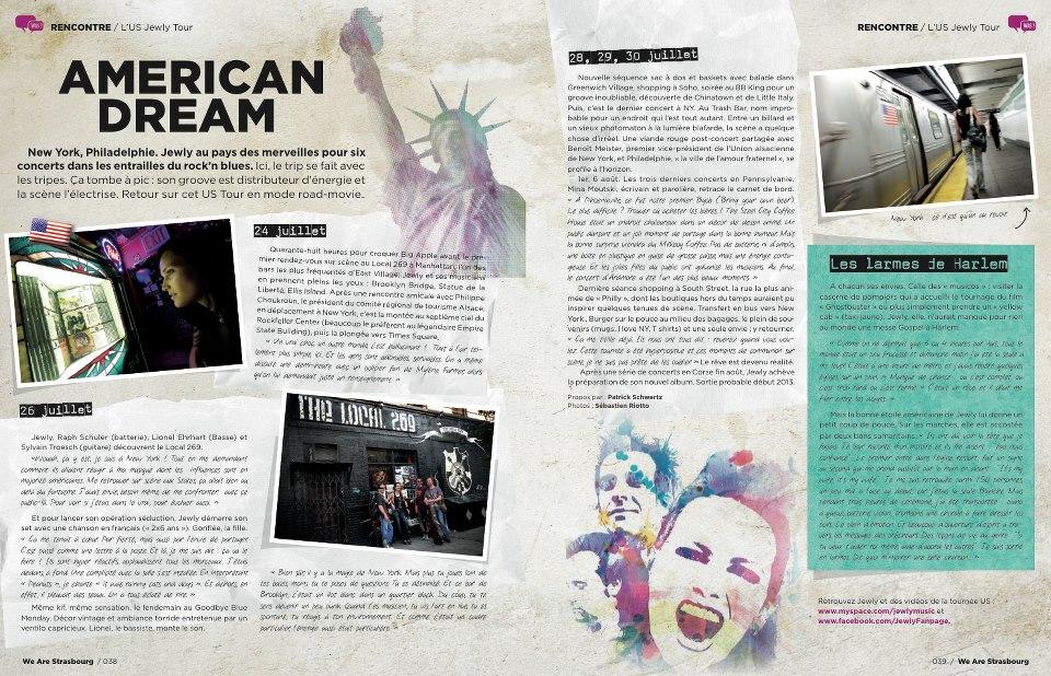 WAS Magazine – 4th quarter 2012