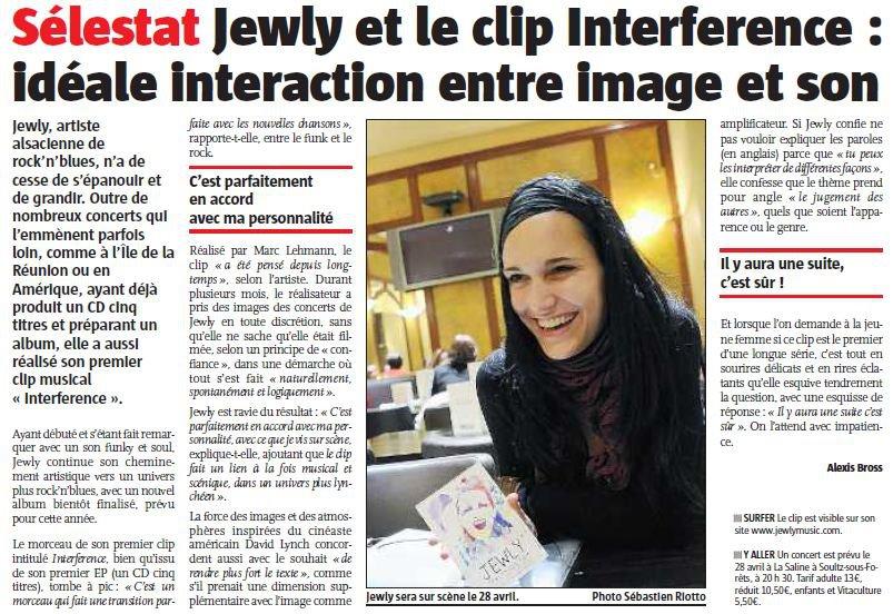 L'Alsace – 09/02/2012