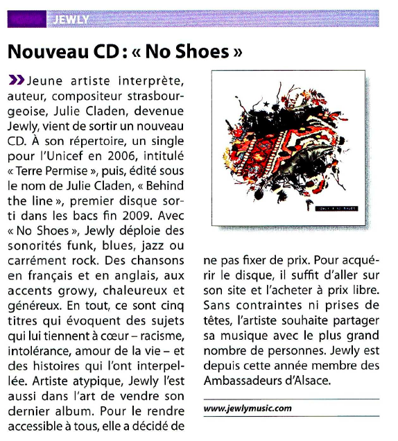Le Point Eco – 03/2011