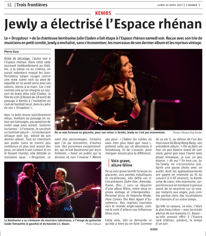 L'Alsace - 24/04/2017