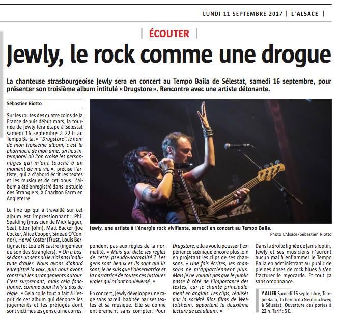 L'Alsace - 11/09/17