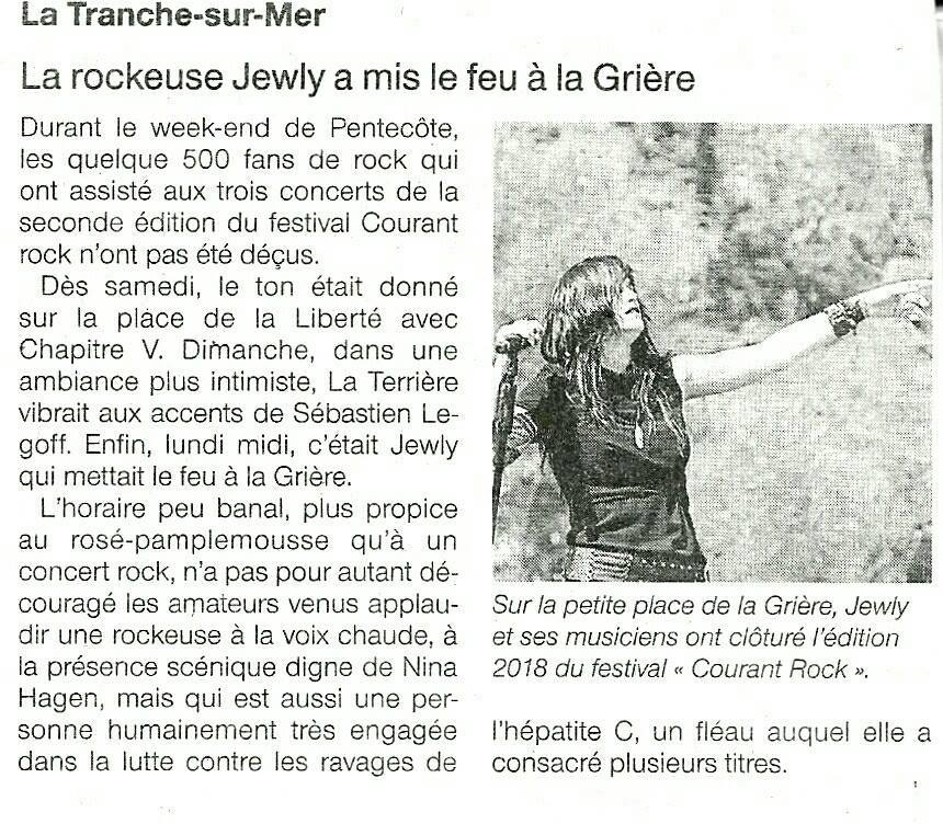 Ouest France - 24/05/18