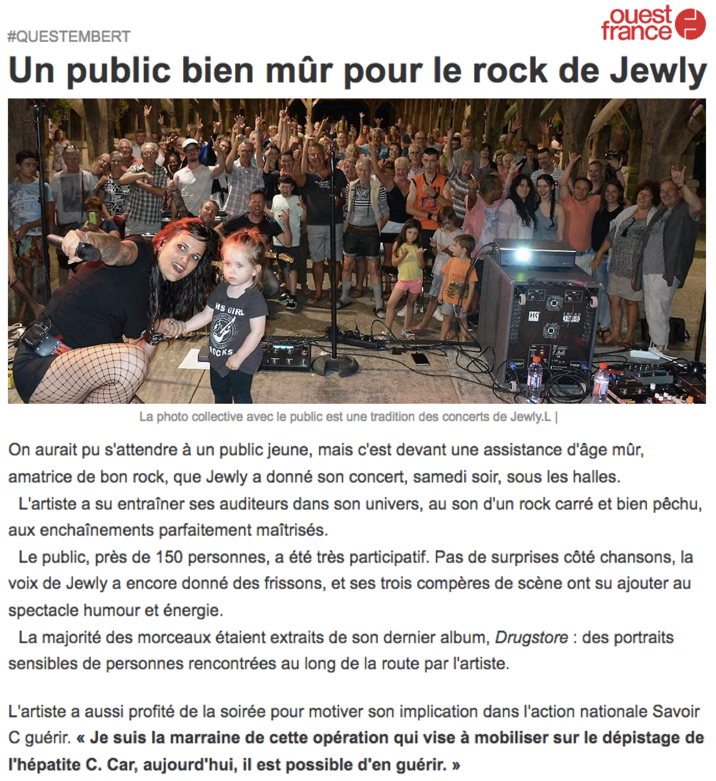 Ouest France - 06/08/18