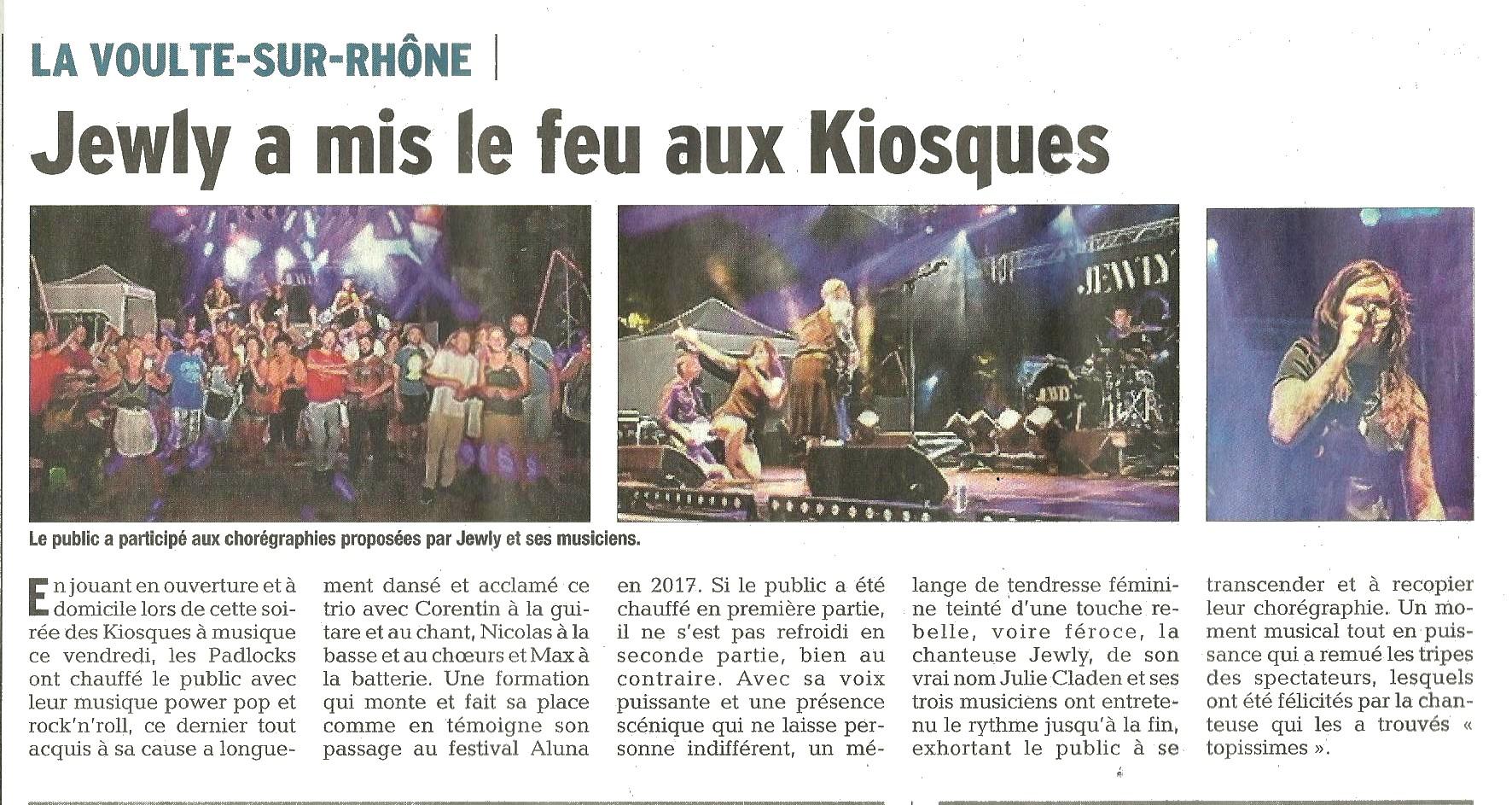 Le Dauphiné Libéré - 29/07/18