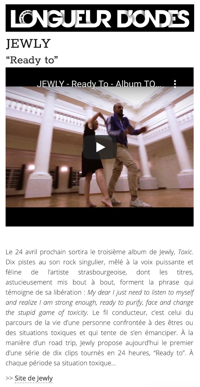 Longueur d'Ondes - 26/03/20