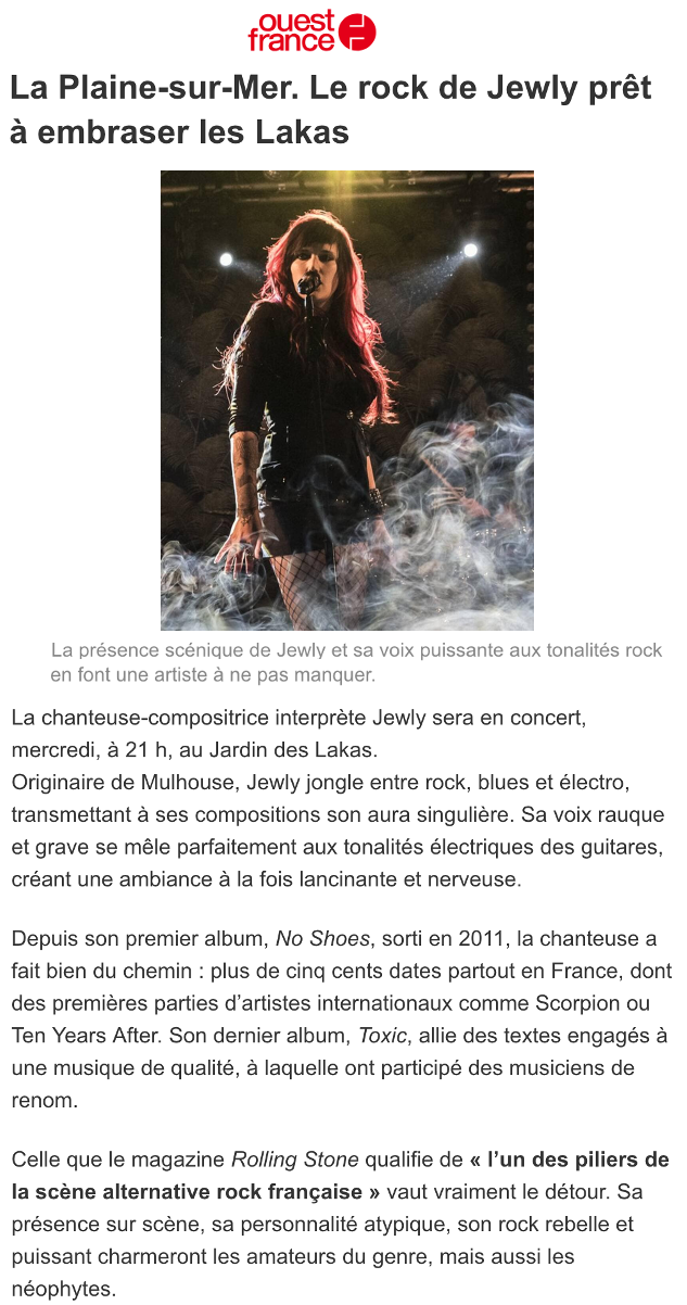 Ouest France - 03/08/21