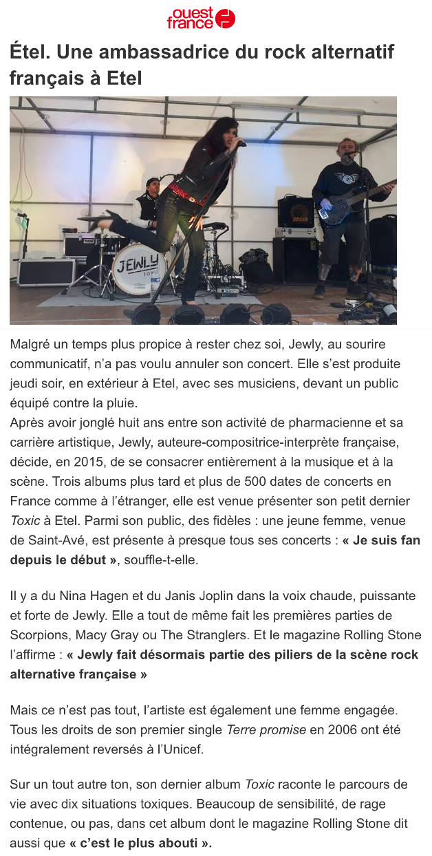 Ouest France - 07/08/21